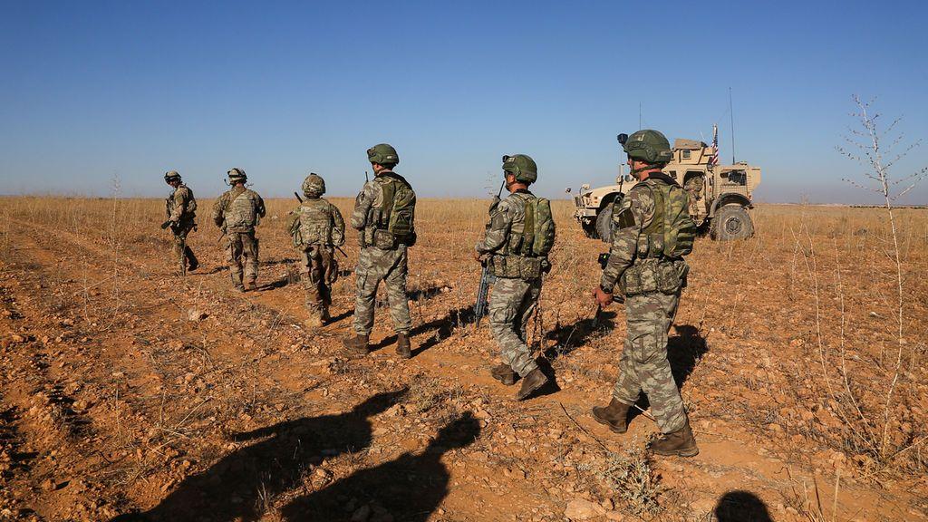 EEUU firma la orden de repliegue de tropas en Siria