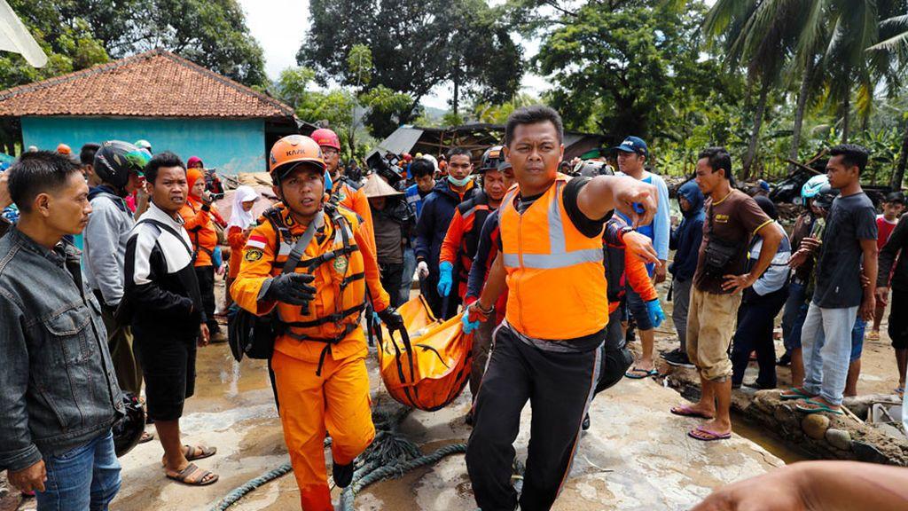 Tsunami en Indonesia: 281 el número de muertos y más de 1.000 heridos