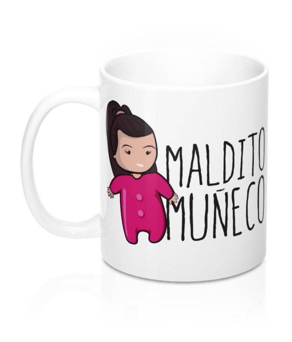 Taza Maldito Muñeco
