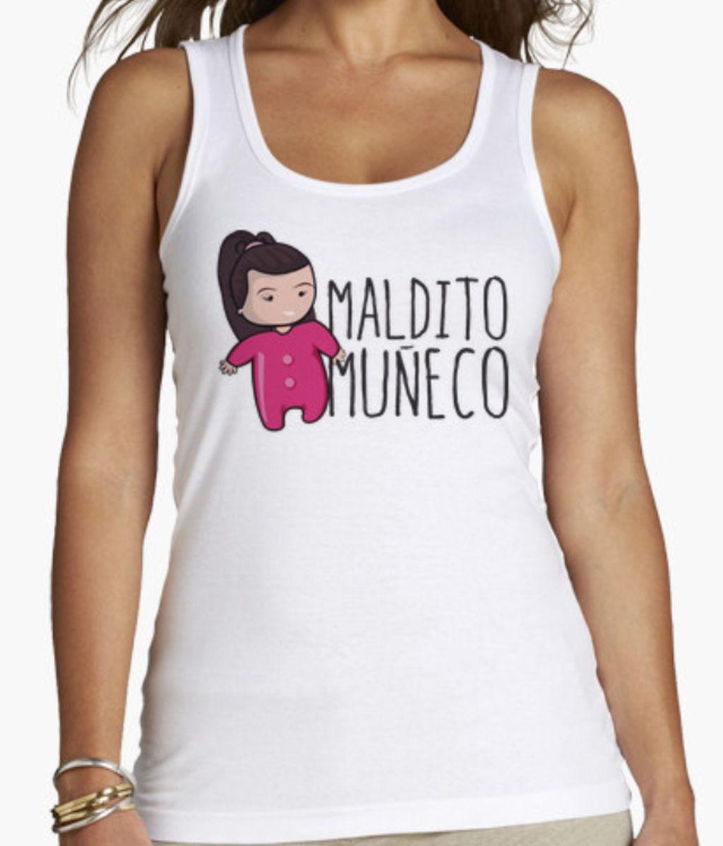 Camiseta de tirantes Maldito Muñeco