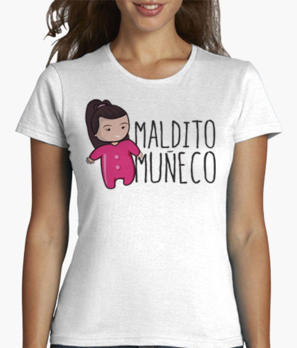 Camiseta de manga corta Maldito Muñeco
