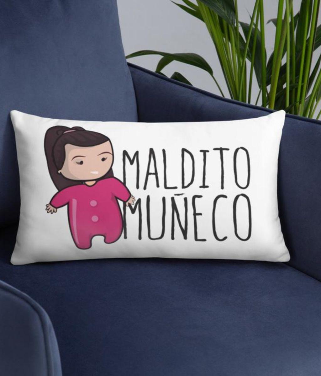 Cojín Maldito Muñeco