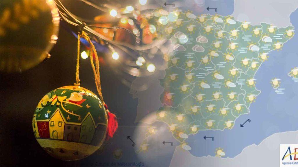 Predicción especial Navidad: el tiempo hasta el 31 de diciembre, por días