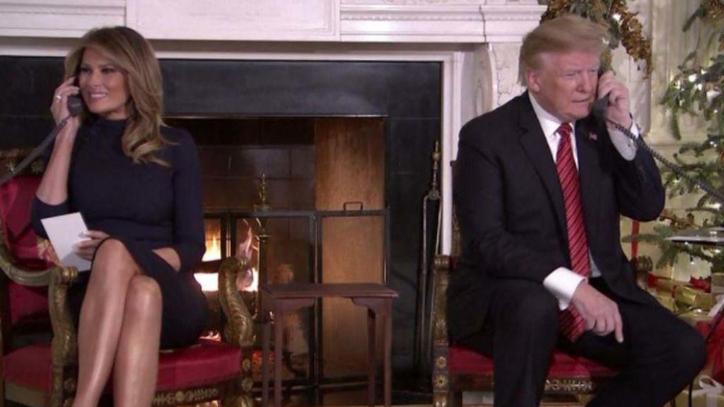 Trump a un niño de 7 años ¿Sigues creyendo en Santa Claus a tu edad?