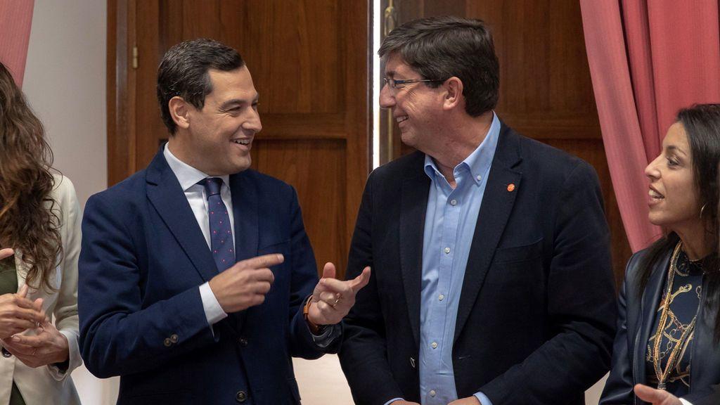 Acuerdo para gobernar Andalucía: El PP presidirá la Junta, C's el Parlamento y Vox entra en la Mesa