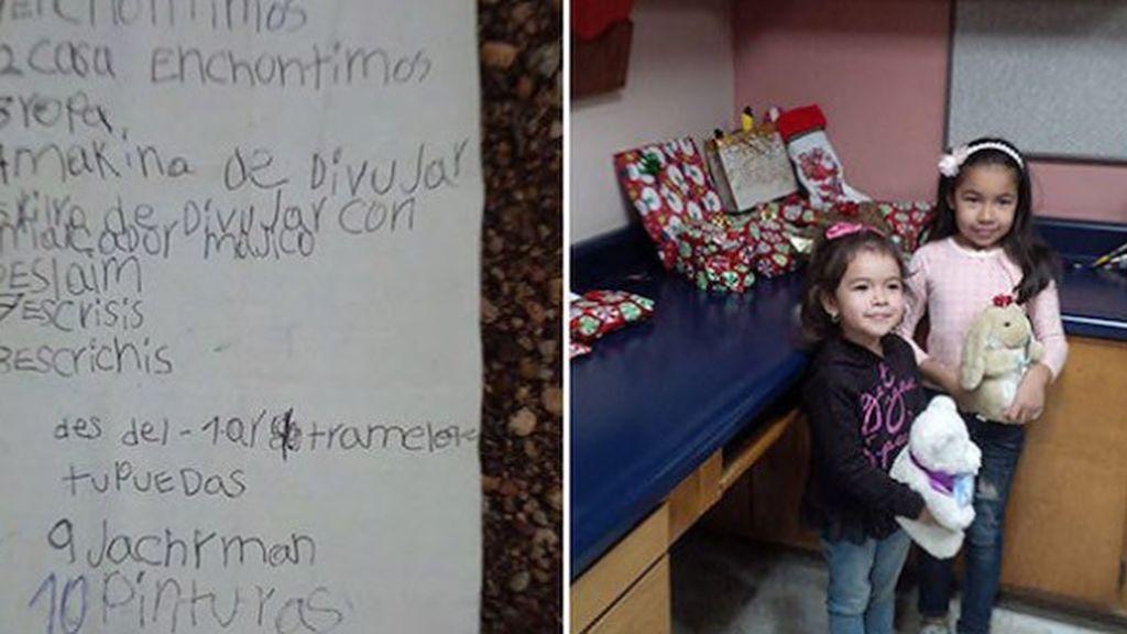 La niña que recibió respuesta de Santa Claus