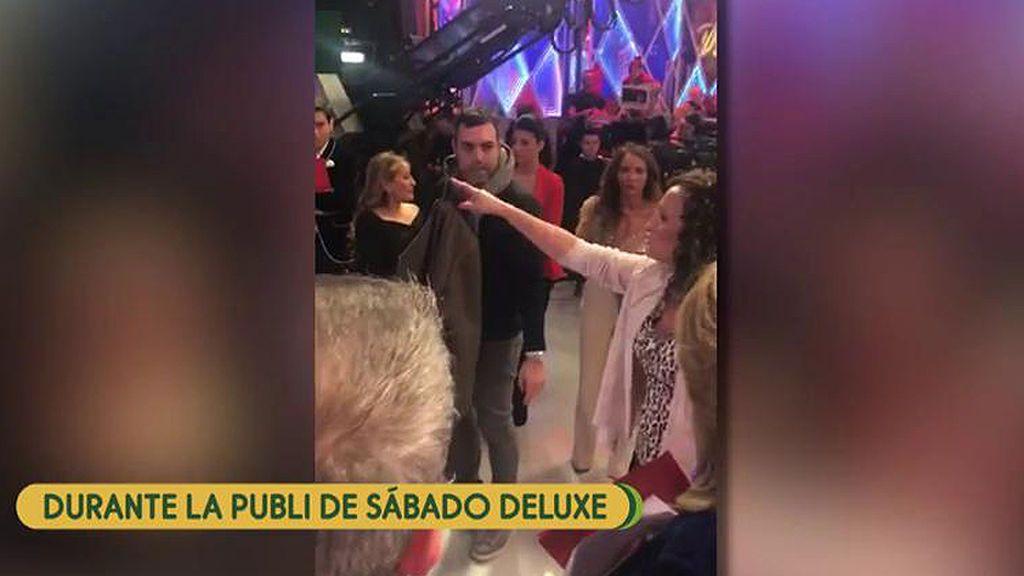 Lo que no vimos de la entrevista de Chabelita en el 'Deluxe': Dulce enfureció en publicidad