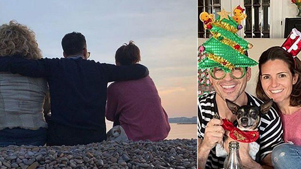 La Navidad en familia de Miguel Ángel Silvestre: humor, recuerdo a su padre y un mensaje de agradecimiento