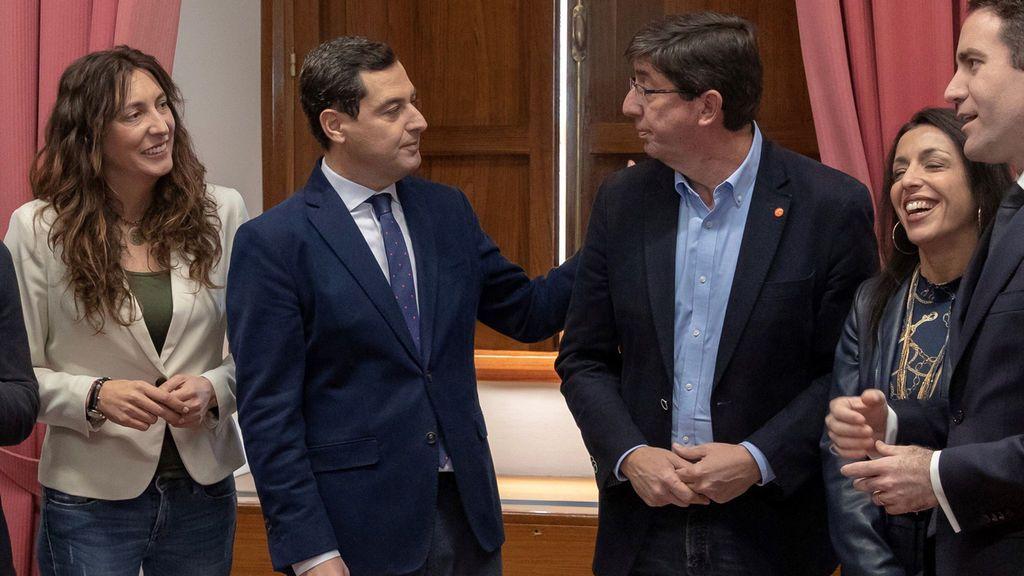 Andalucía ya tiene virtual presidente: El PP presidirá la Junta, C's el Parlamento y Vox tendrá voz y voto