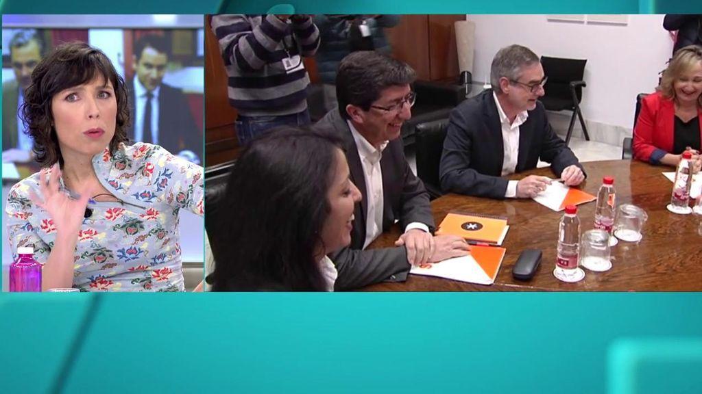 """Marta Nebot, sobre el acuerdo de PP, C's y Vox: """"La pantomima ha durado poco"""""""