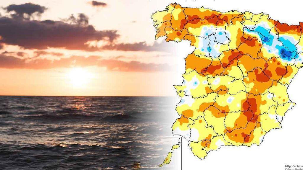 Hasta 10ºC más de lo normal: la razón de que esté haciendo tanto calor a las puertas de enero
