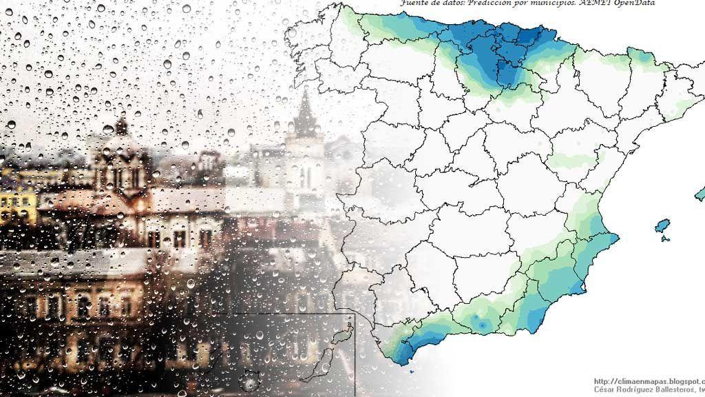 El año terminará algo lluvioso: se esperan precipitaciones el fin de semana
