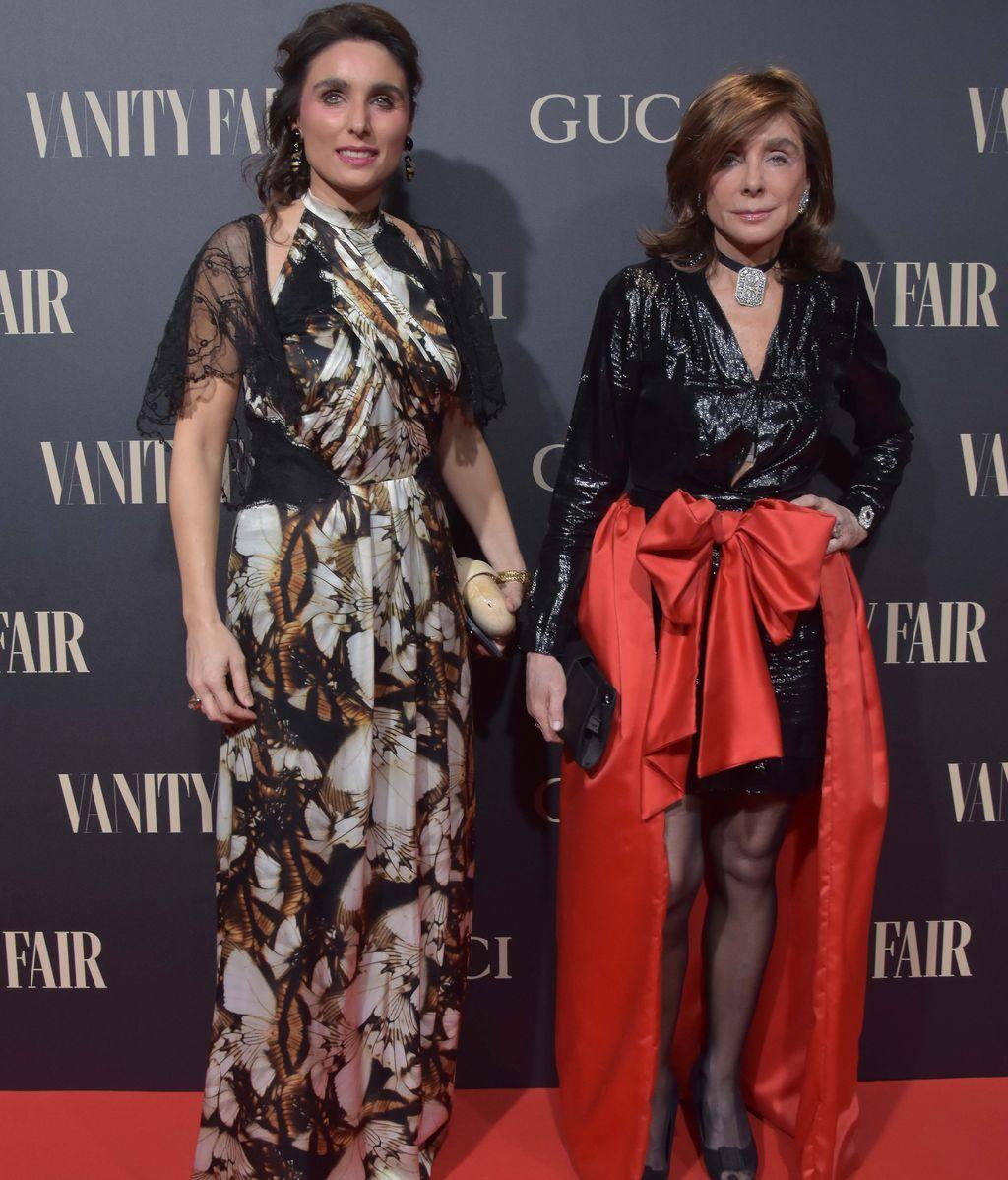 Paloma Segrelles y su hija Paloma Vanity