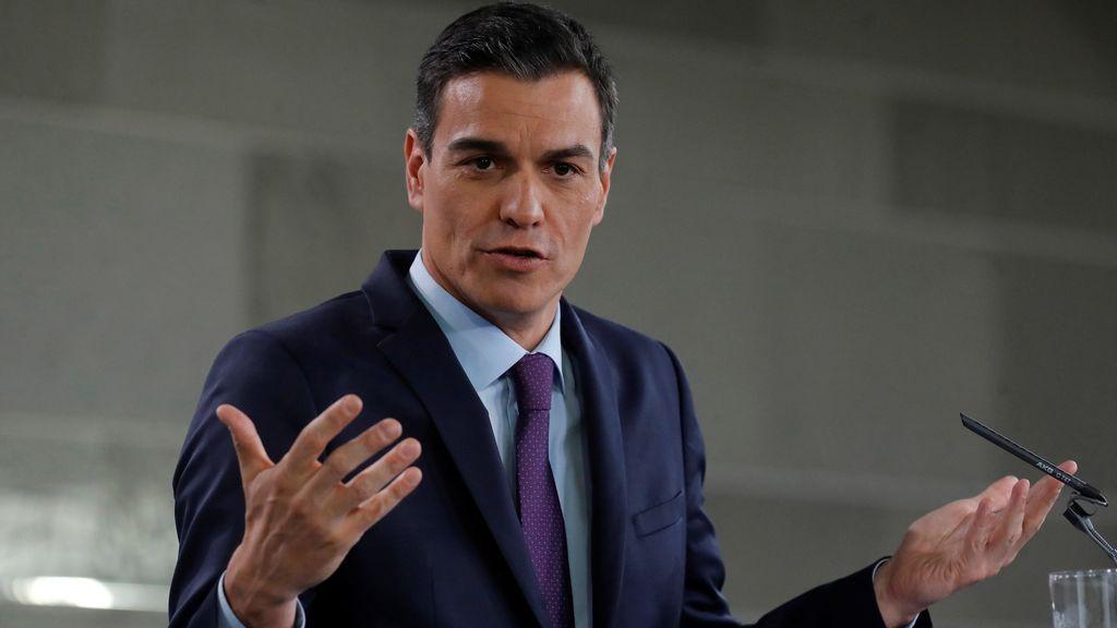 """Pedro Sánchez exhibe su gestión de Gobierno:  """"En siete meses hemos hecho más que Rajoy en siete años"""""""
