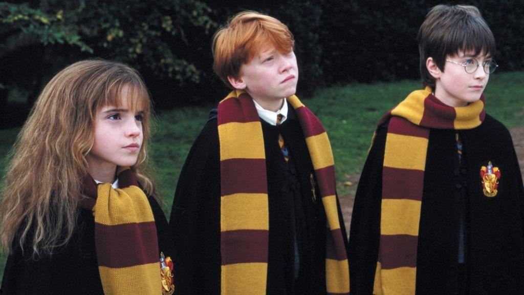 Personajes principales de 'Harry Potter y la pidra filosofal'.