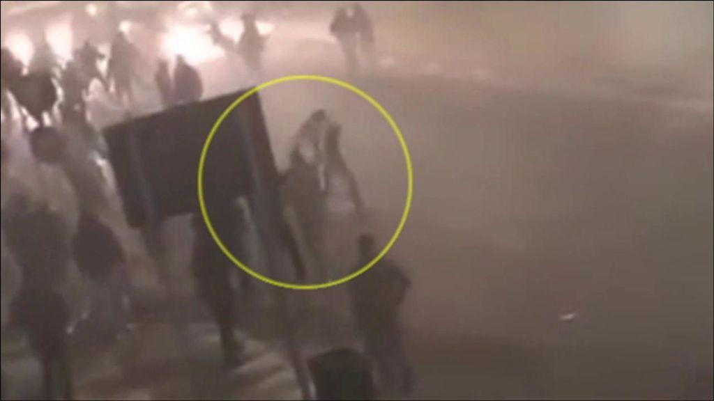 Nuevas imágenes de la pelea de ultras que costó la vida a un hincha del Inter en Milán
