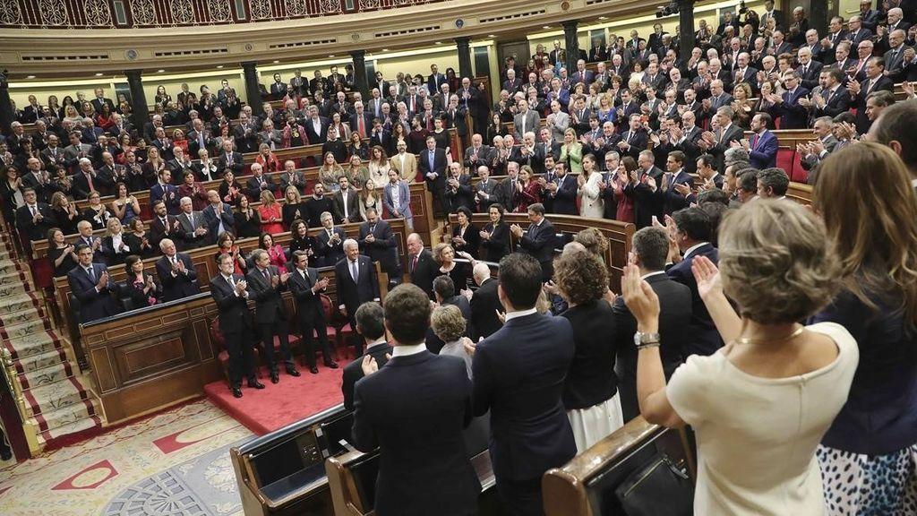 El Congreso celebra los 40 años de la Constitución Española