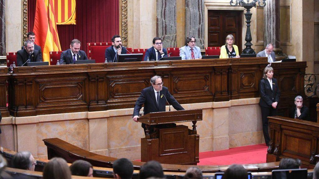 Quim Torra es investido president de la Generalitat