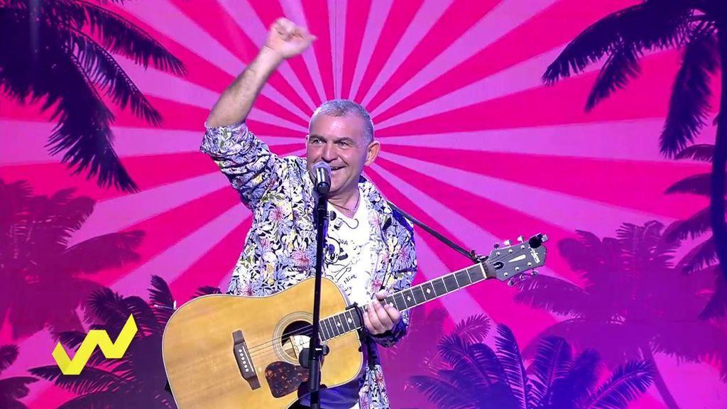 El Koala canta en 'Viva la vida' su nuevo single y el público se viene muy arriba