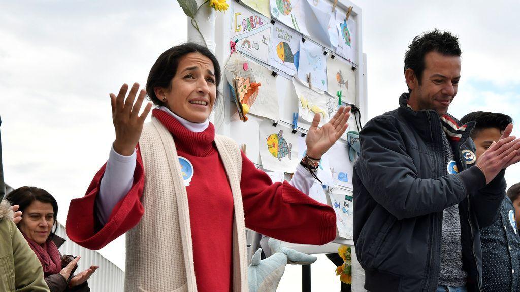 """Los padres de Gabriel Cruz inauguran el espacio de 'la Ballena': """"Queríamos que no hubiese lágrimas, sino sonrisas"""""""