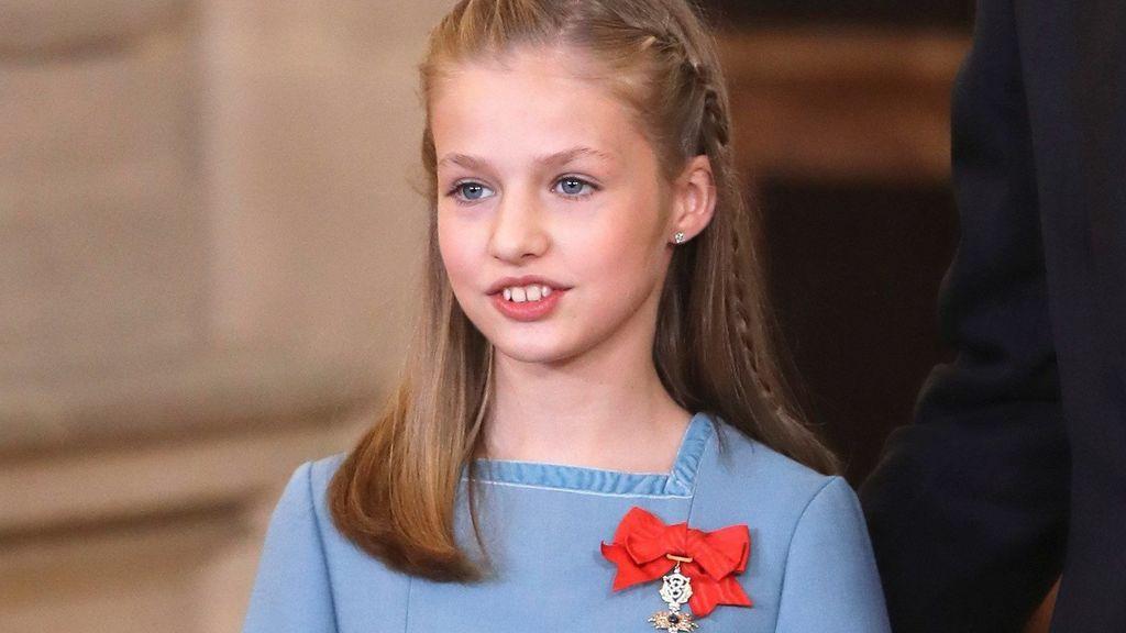 La Princesa Leonor recibe el Collar del Toisón de Oro