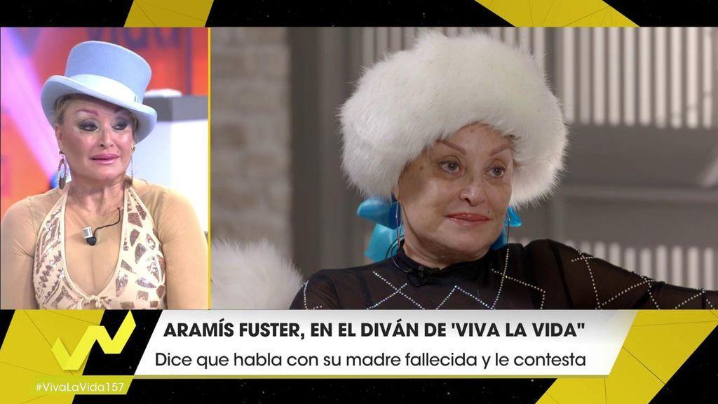 "Aramís llora en el diván de 'Viva la Vida': ""No me molesta que me llamen loca"""