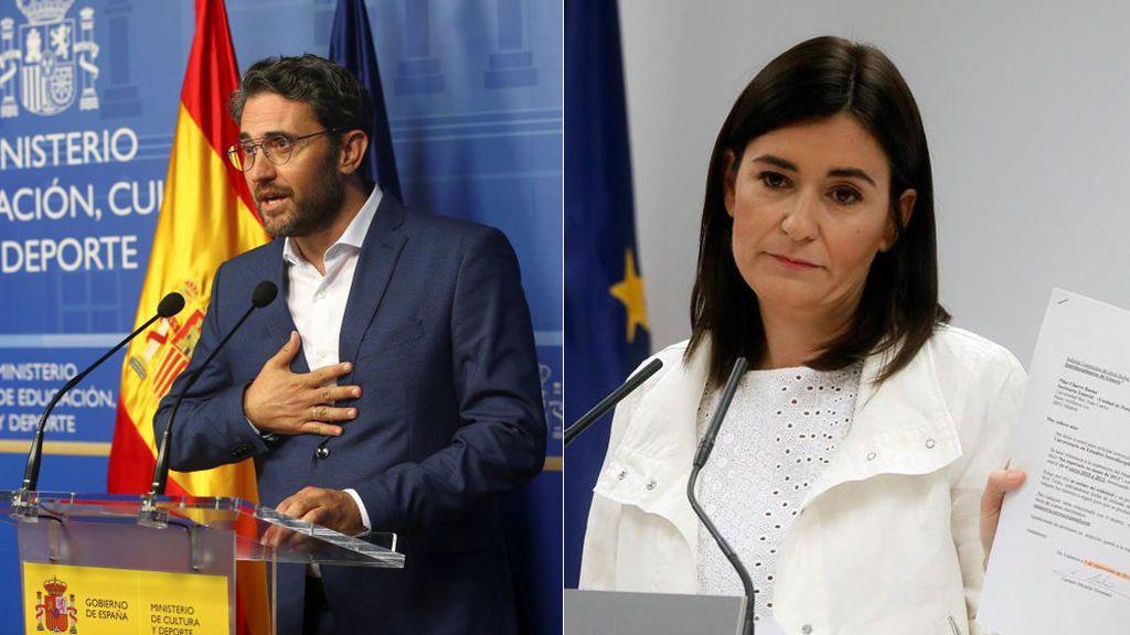 Dimiten dos ministros del Gobierno de Sánchez en sus primeros 100 días como presidente