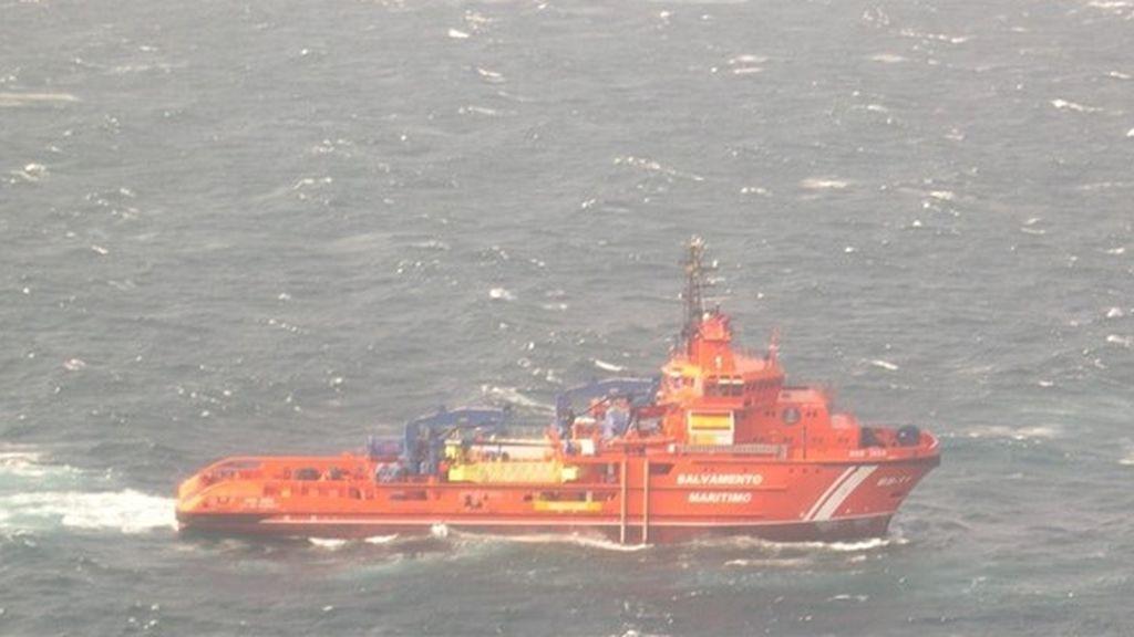 Salvamento Marítimo encuentra el 'Sin Querer Dos' 10 días después de su hundimiento