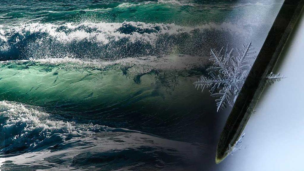 Viento, olas de 5 metros, niebla y mucho frío: el 2019 arranca con avisos