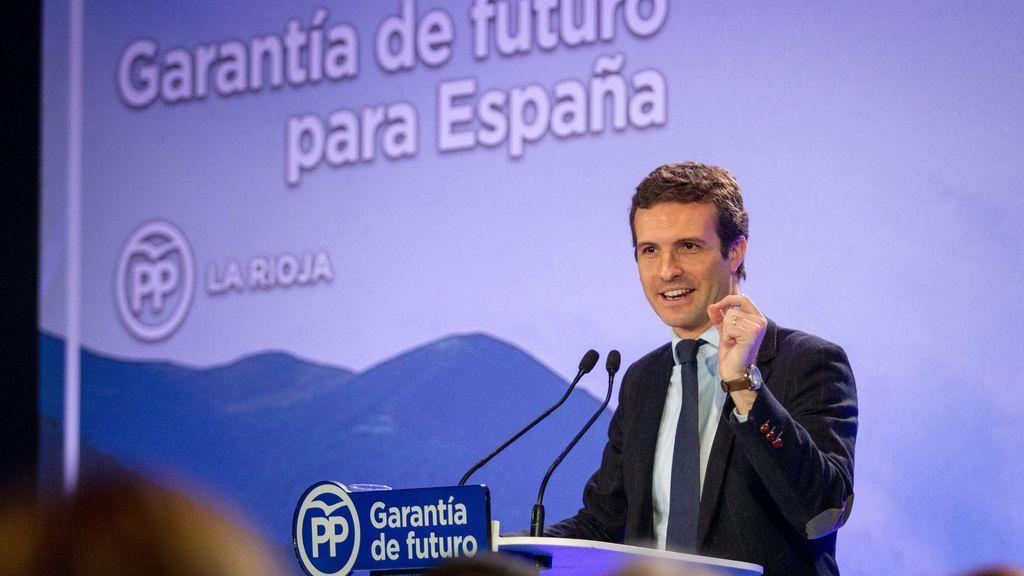 """Casado asegura que la """"nueva amenaza"""" de Torra """"no puede quedar impune"""": """"El independentismo está descontrolado"""""""