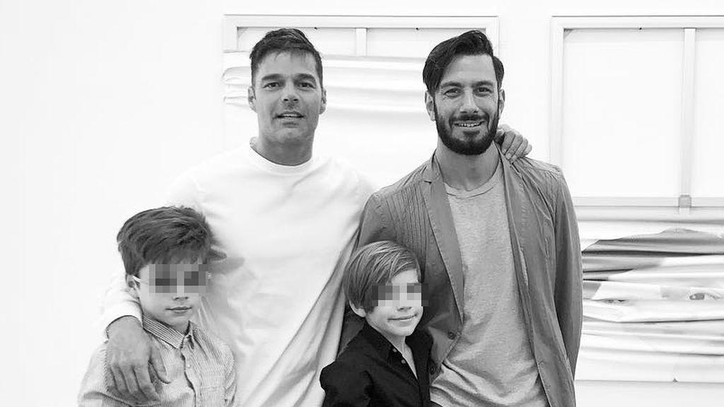Ricky Martin anuncia por sorpresa que es padre de una niña: te presentamos a su familia numerosa