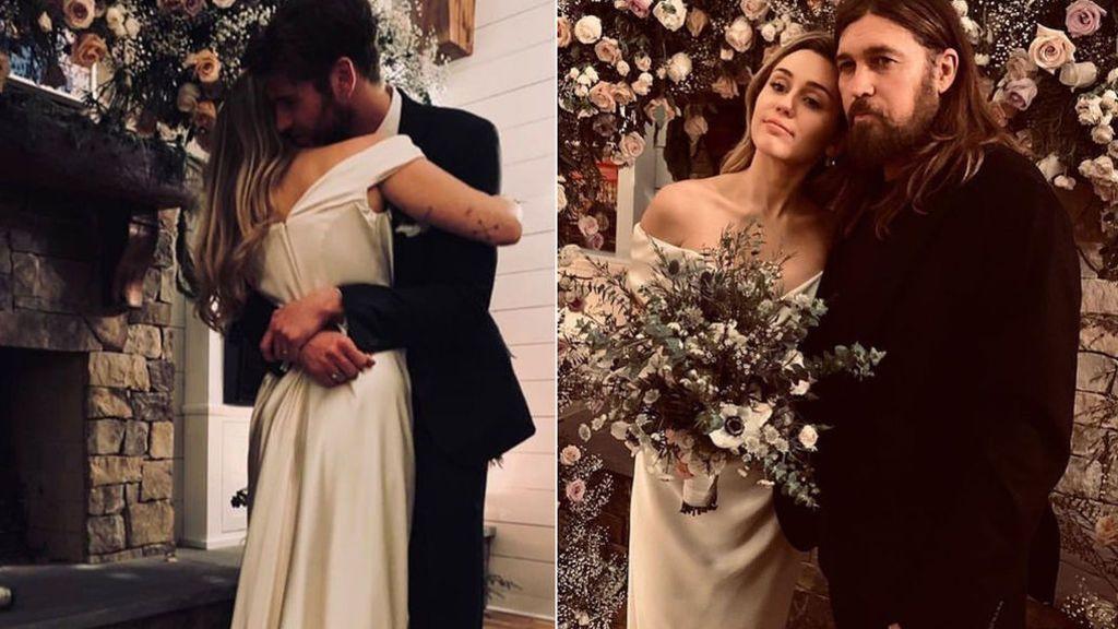 Miley Cyrus y Liam Hemsworth se casan: aciertos y errores de los looks de novios e invitados