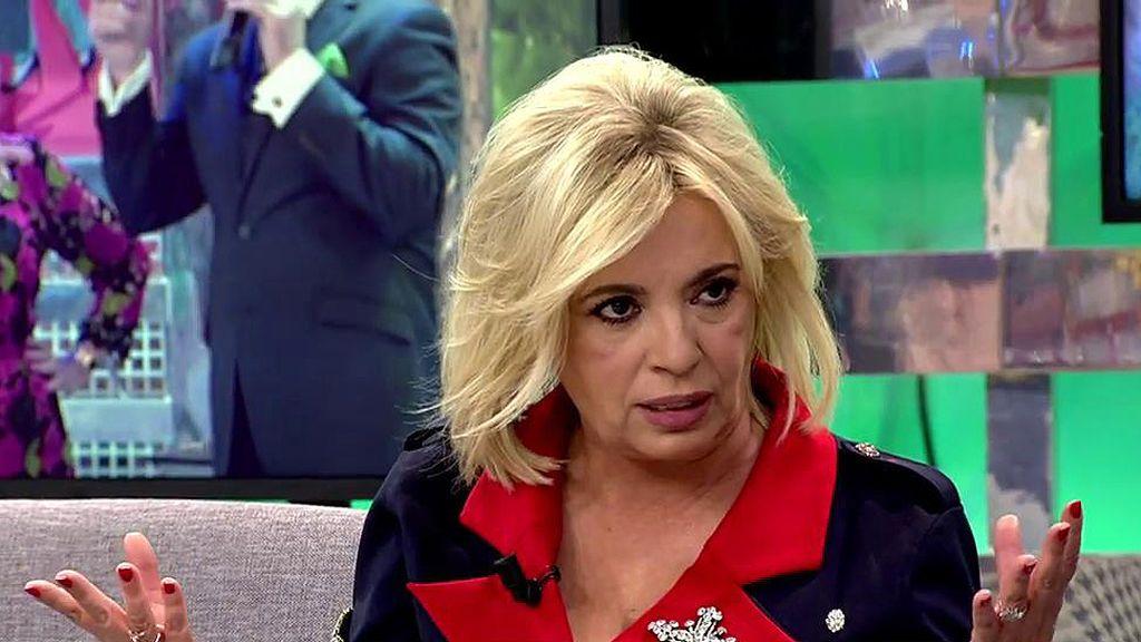"""Carmen desmiente los rumores de crisis entre Bigote y Mª Teresa: """"No hay mal rollo"""""""