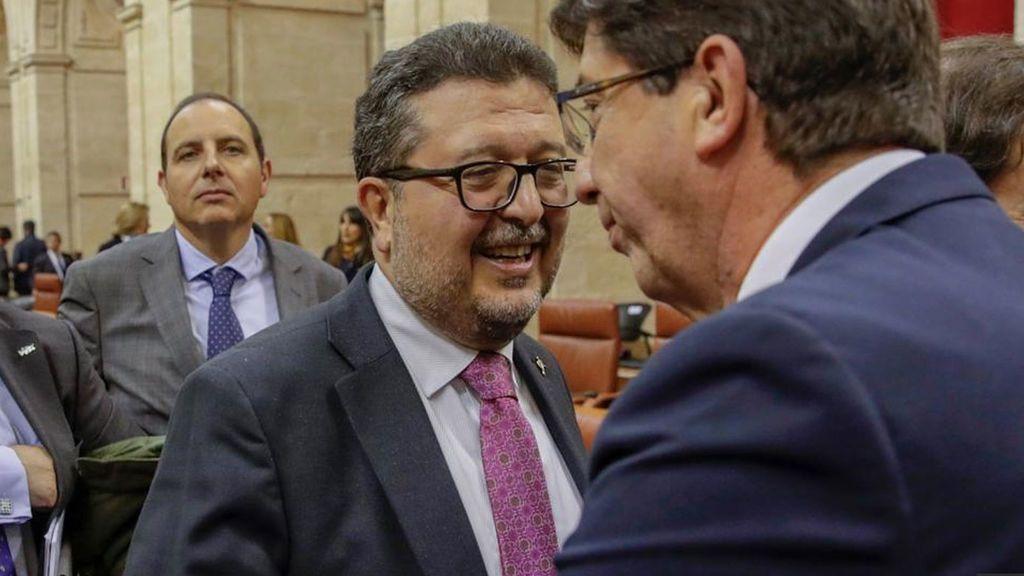 """Ciudadanos responde al ultimátum de Vox: """"No se va a mover nada"""" del acuerdo con el PP en Andalucía"""