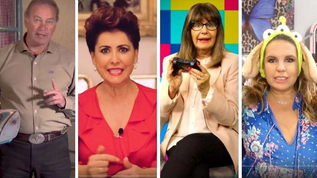 Tiembla Rubius: Bertín y otros famosos 'senior' se convierten en youtubers