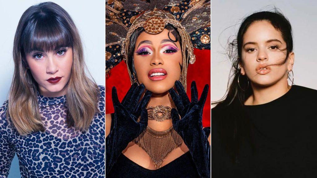Rosalía, Cardi B o Aitana: el fenómeno musical en 2018 lleva nombre de mujer