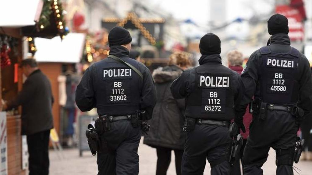 policía Alemania