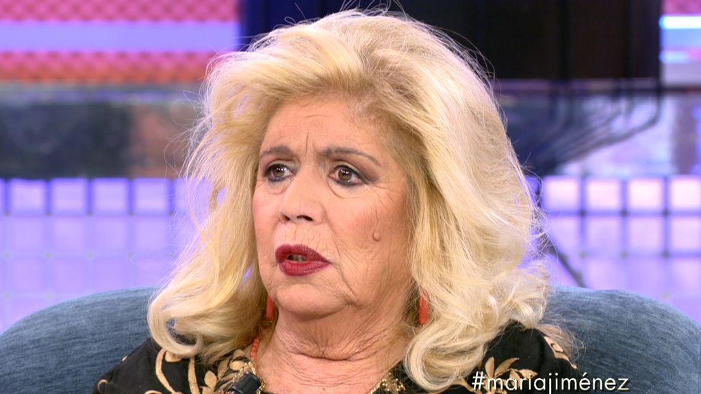 """María Jiménez: """"Raquel Bollo se cargó la carrera de Chiquetete"""""""