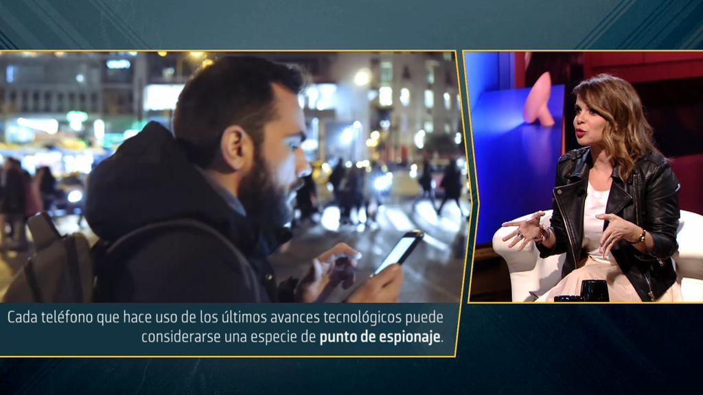 Carme Chaparro da las claves: nos vigilan a través del móvil ...