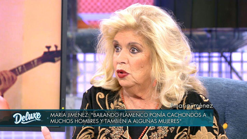 """María Jiménez: """"Ponía cachondos a muchos hombres y también a algunas mujeres"""""""