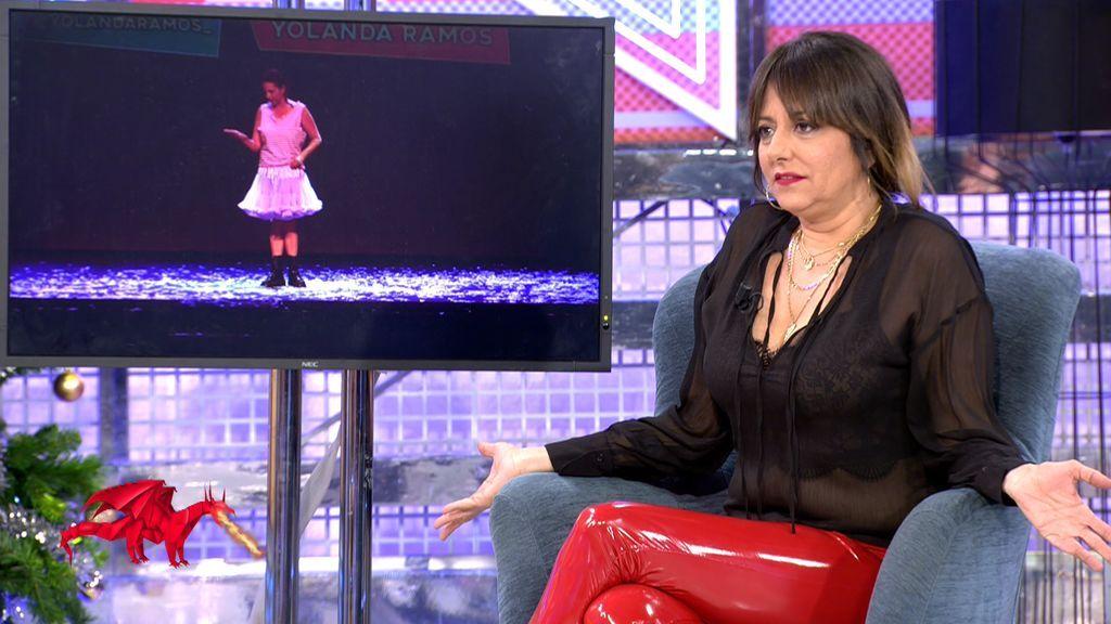 Yolanda Ramos recuerda su zasca a José Luis Moreno