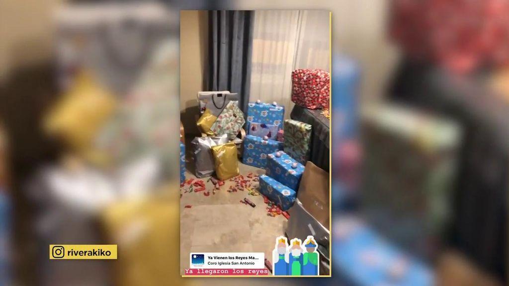 Kiko Rivera ha sido bueno este año: ¡su casa amanece repleta de regalos!
