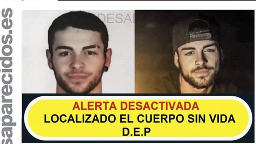 Hallan el cuerpo de Christian, el joven desaparecido hace más de un mes en Jaén