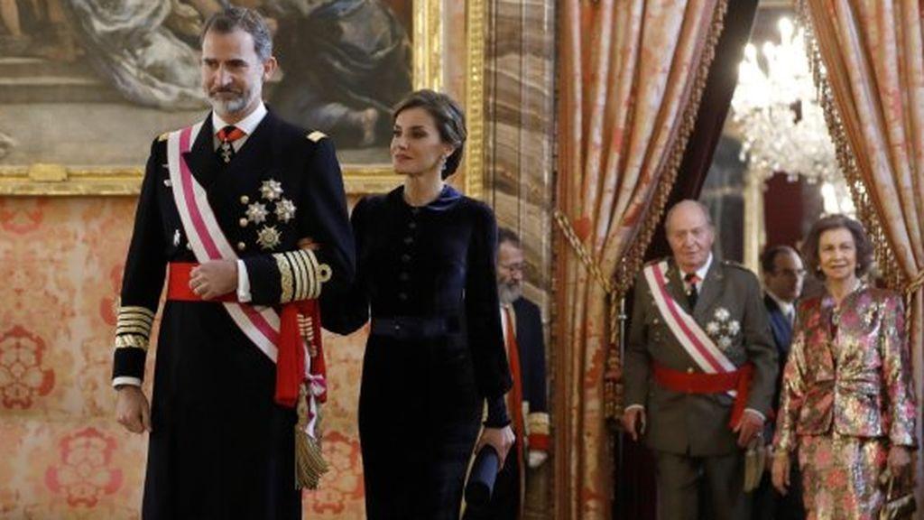Pedro Sánchez se estrena en la Pascua Militar
