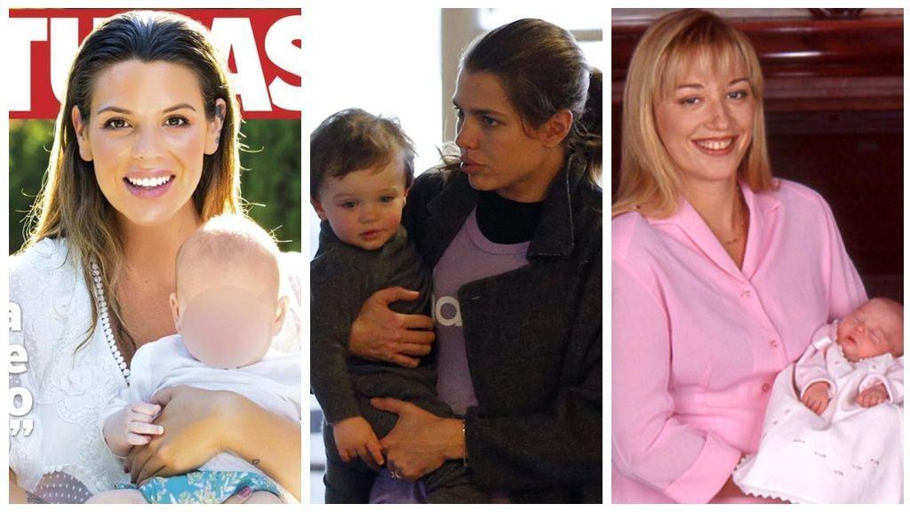 Carlota Casiraghi, Laura Matamoros, Belén Esteban… cuando el bebé viene con una separación debajo del brazo