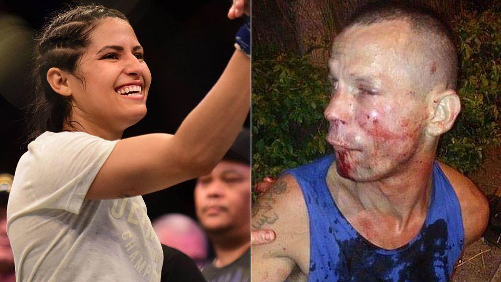 Intentan robar el móvil a la 'Dama de Hierro' de la UFC y el ladrón acepta que llame a la policía para que no le golpeara más