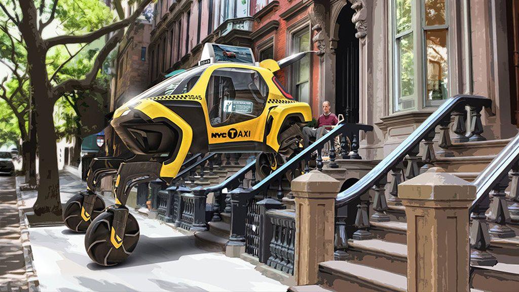 Llega el primer coche con patas: parece un Transformers