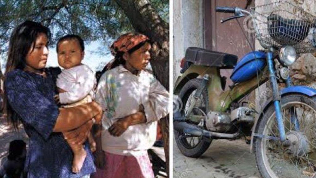 Una indígena cambia a su hija de 14 años por una moto  a un hombre de 59 años
