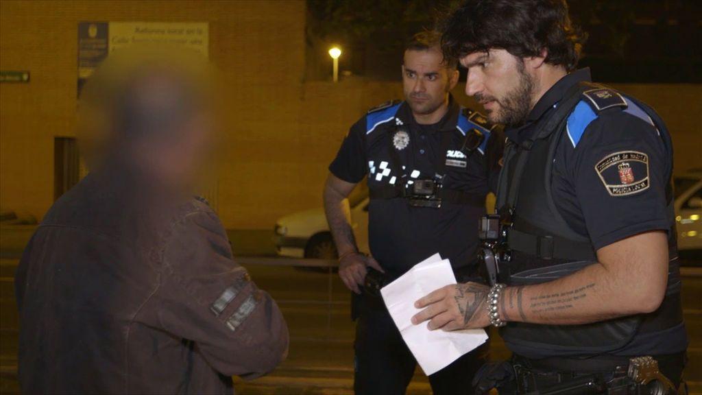 Iván y Óscar, en la segunda temporada de 'Héroes, más allá del deber'.
