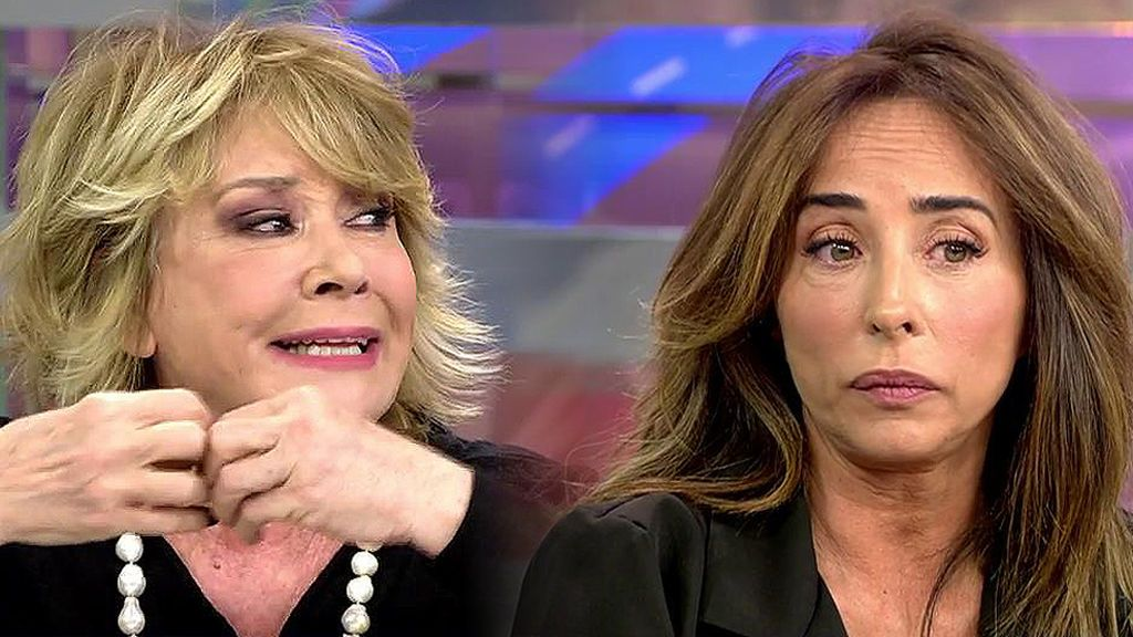"Mila Ximénez, contra María Patiño: ""Estás siendo desagradable e irrespetuosa con el programa"""